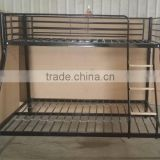 twin/full bunk bed metal