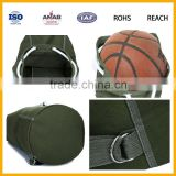 Wholesale Cheap Price Customized Canvas Material Sports Bag Backpack Basketball Bag Backpack