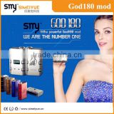Smy electronics huge vapor God 180 mod 180 wattage big power