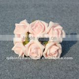 Artificial Silk wedding flower Rose Bundle,Artificial Foam Flower Craft for Wedding Decoration