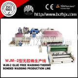 Hot Sale Non woven without glue felt production Line WJM series