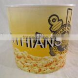 big plastic popcorn cup containers