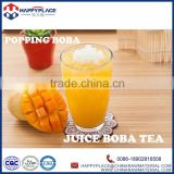 halal juicy bubble tea balls, popping boba topping for frozen yogurt, bubble ball for sale