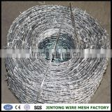 barbed wire wholesalers galvanizado arame farpado 400m long roll out fence