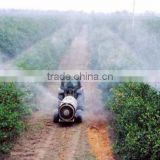 high efficient orchard fruit garden vineyard trailer boom tank air blast sprayer 1500L with Italy diaphragm pump