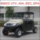600cc UTV 4 Seats, CFMOTO Engine UTV, EPA UTV, EEC UTV, 4WD Utility Vehicle, 4 Wheel Drive UTV, Bench UTV, China Cheaper UTV.
