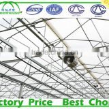 Galvanized Steel Frame Middle East/Africa uv treated Multi Span plastic tunnel commercial greenhouse