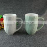 500ml Fine Bone China Ceramic Diamond Coffee Mug High Quality Colorful Porcelain Cute Mug