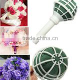 Wedding Bouquet Flower Holder With Flower Foam Floral Wrapping Material