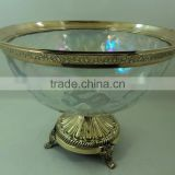 golden glass shiny home decor used goods