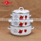 chinese hot sale cheap enamel cast iron cookware set wholesale