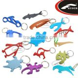 Aluminum Promotion Bottle Opener Keyring