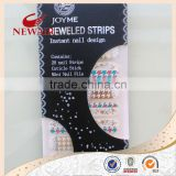 2014 Stylish Artificial Rhinestone Nail Polish Sticker,Crystal Diamond Nail Art World Nail Stickers