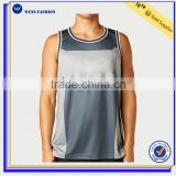 Hot Sale Mens Wholesale Blank Tank Top Gym Wear Athletic Custom Apparel