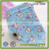 Cute Bear Bibs Baby Waterproof Backing Drooler Bibs