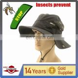 Insect Prevention Fabric bucket hat, outdoor hat can prevent pest bites,Fashion cap