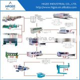 Hydraulic shaft less mii roll stand machine to make cardboard boxes/corrugated box making line machine ce and iso9001