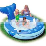 Inflatable fish shape kids Pool