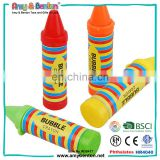 Cheap Crayon Shape Bubbble Toy For Wax Bulk