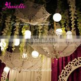 Party Baby Shower Decorative Lace Umbrella Parasols Hanging Party Umbrella Wedding Favors
