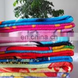 custom 100% cotton beach towels 100x180cm and so on