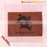 Custom High Cost Performance Synthetic Leather Patch Label For Product Decoration