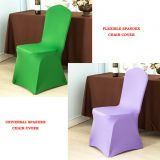 Stretch polyester spandex fabric chair cover for banquet and party