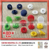 Colorful Kam Plastic Case Bag Button