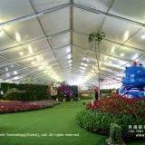 25x100m White PVC Tent for Flower Expo