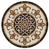 New hot selling arabic marble floor waterjet round medallion
