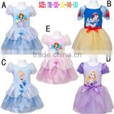 2015 summer girls princess dresses fancy dress costume party dress for girls                                                                         Quality Choice