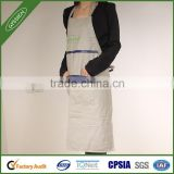 China wholesale gray/custom canvas/600D/custom cooking apron,nonwoven apron