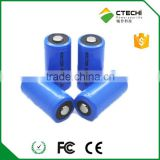 RCR123A ICR 17335 3.2V 450mAh LI fepo4 rechargeable battery