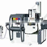 adhesive sticker label printing machine withe print-die/ punching/die cut & hot-stamp