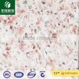 white and pink artificial marble quartz stone big slabs, countertops