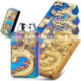 New dragon usb dual arc lighter with CE certificate