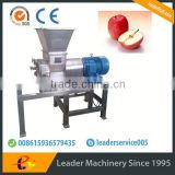 Leader hot sales fruit crusher/ apple crusher/grape stem removing machine Skype:leaderservice005