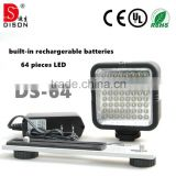 Dison 10W led video light, light bulb camera, led light up clothes                                                                                                         Supplier's Choice