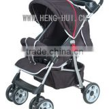 foldable rubber wheel baby carriage