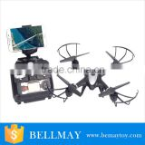 2016 WIFI FPV 0.3MP Camera APP/Transmitter Dual Mode Altitude Hold 3D Flip RC Quadcopter RTF