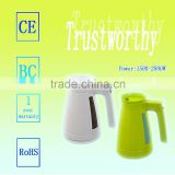 the portable high quality low price and efficient home appliance plastic electric water kettle