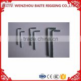 Zinc plated Furniture bolt and Screw , Karbiner Rigging Hardware Accessory Made in China Manufacturer