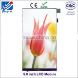 Wholesale cheap mobile phone 5 inch FWVGA tft color lcm module with ILI9806E-2 IC driver