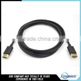 Xinya factory price high quality HDMI type-D cable or LCD, DVD, HDTV, HDTV receiving box support 3D*4K 1080P