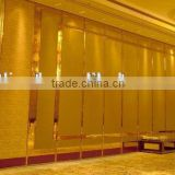 china manufacturer aluminium high quality folding wall partition for hospital