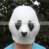 Latex Panda Mask Adult One Size fits all Costume mask