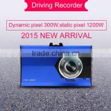 2016 Ultra Thin HD 1080p Camera Car DVR & Dashboard Camera & Micro Camera Motion Detection dvr car camera