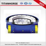Titanhorse 17 inch worm Gear high precision slewing drive for construction machinery and CNC robot arm