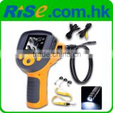 "DVR 9.8mm Endoscope Borescope Zoom Recordable Rotation 1m Cable Video 2.4"" Inspection Camera"