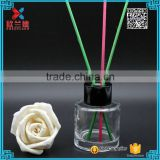 55ml aroma diffuser glass bottle & aroma glass bottle with aluminium collar cap                                                                                                         Supplier's Choice